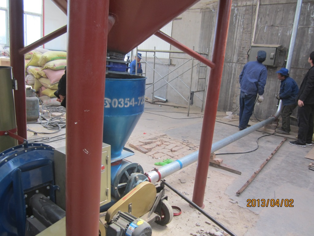 压送式输送小米吸粮机