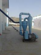 吸粮机在甘肃国家粮食储备库